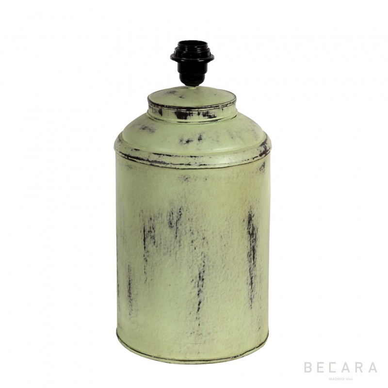 Green metal Tibor lamp