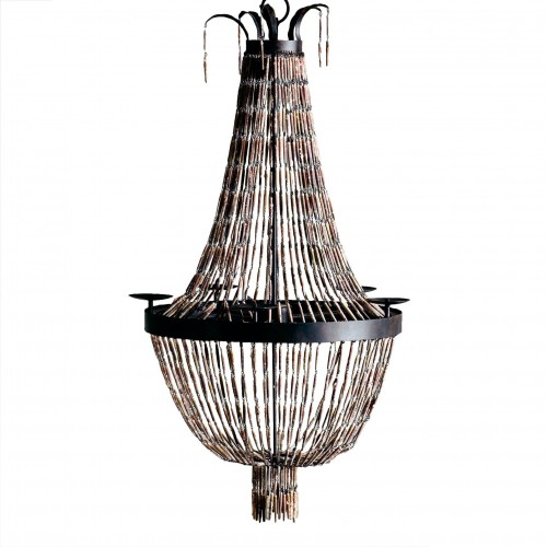 Lámpara de techo Imperio Erizo - BECARA
