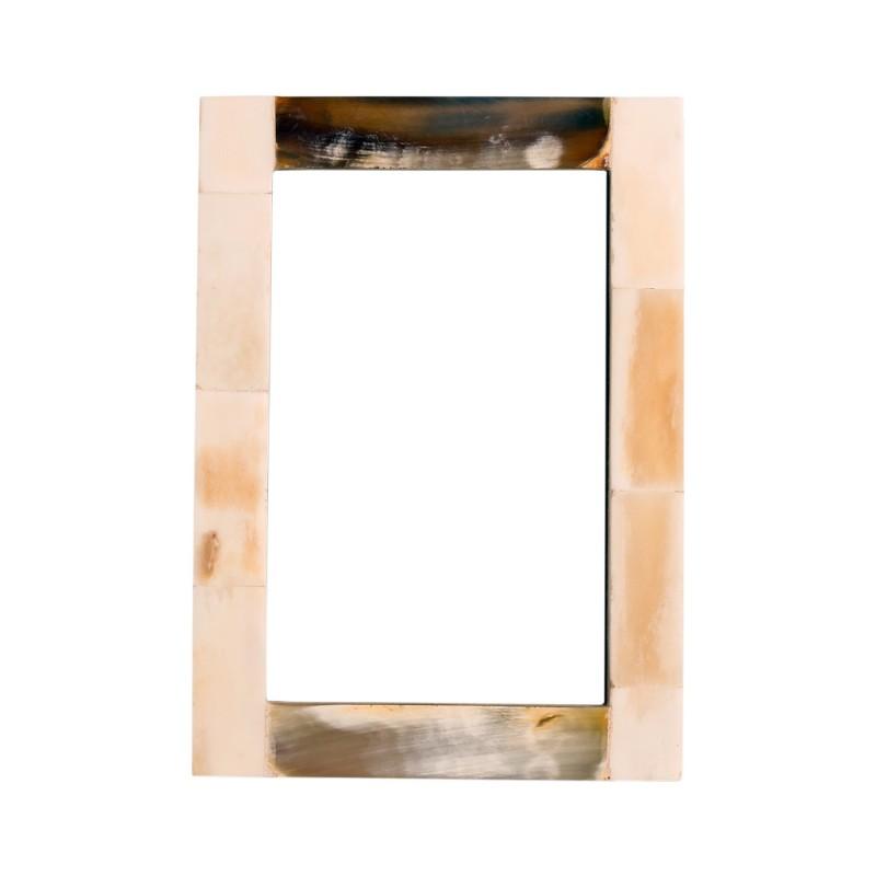 White horn frame