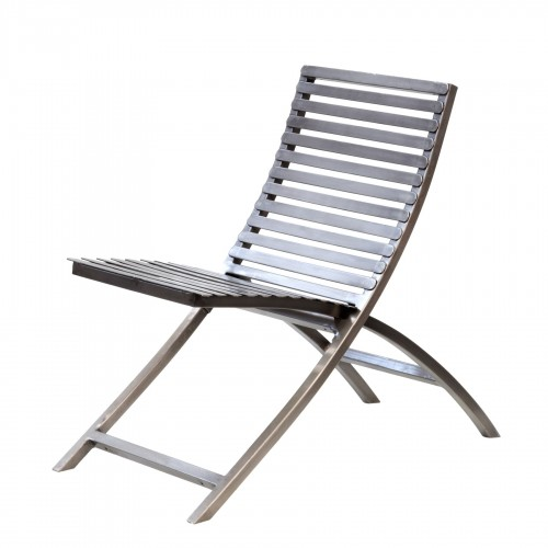 Nickel-plating iron strips chair
