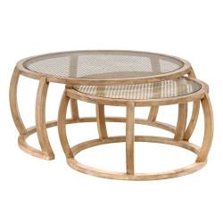 Julieta set of 2 side tables