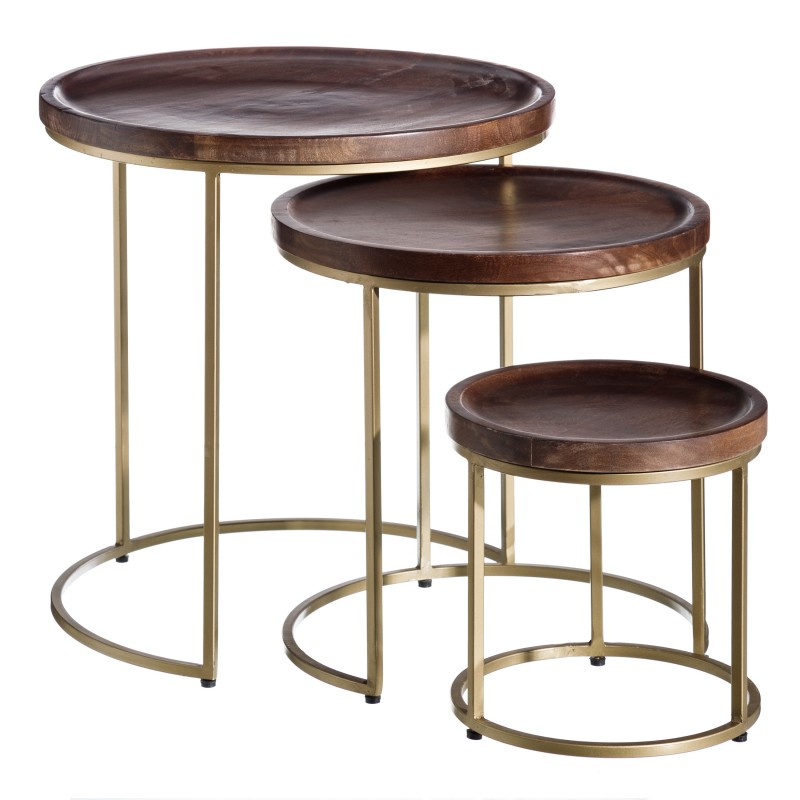 Thomson set of 3 side tables