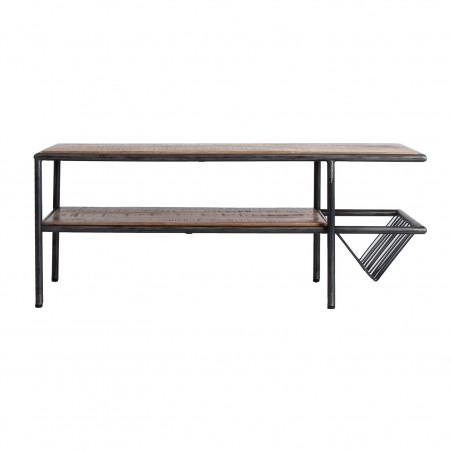 Tweed coffee table