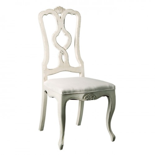 Victoria chair with linen seat