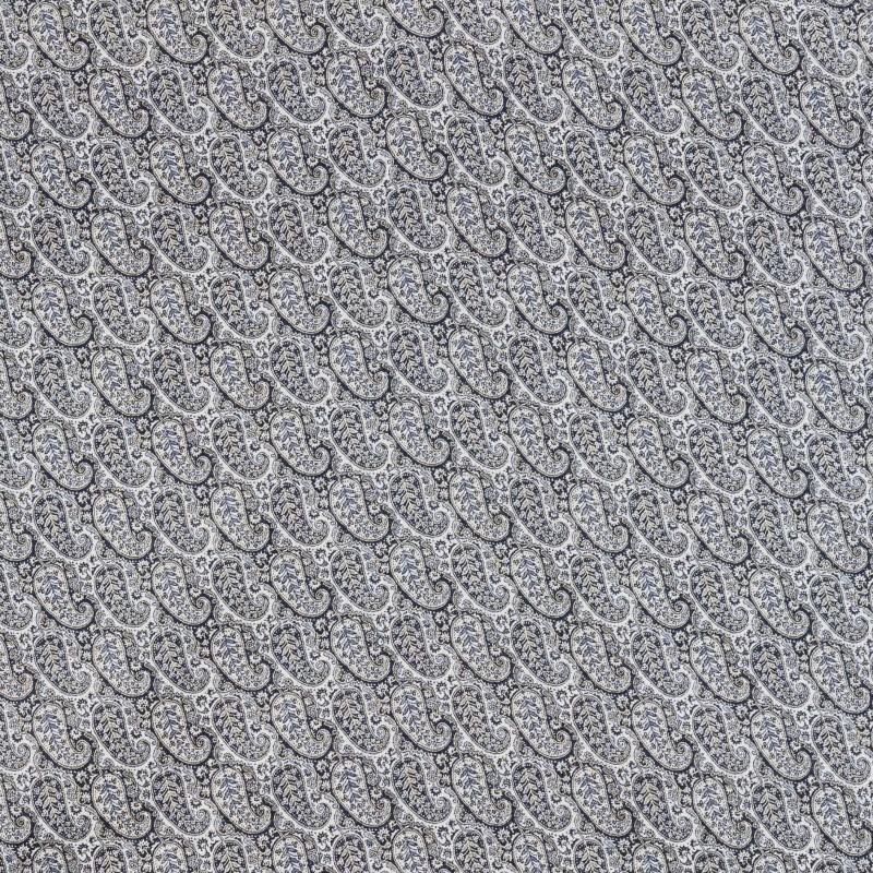 Black-beige kashmir fabric