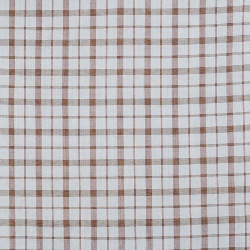 Brown-beige Bermuda fabric