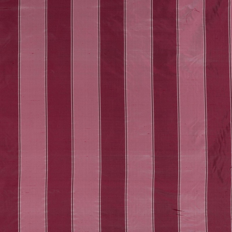 Canterbury burgundy silk fabric