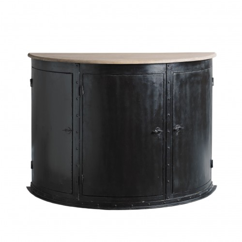 Crescent shaped sideboard