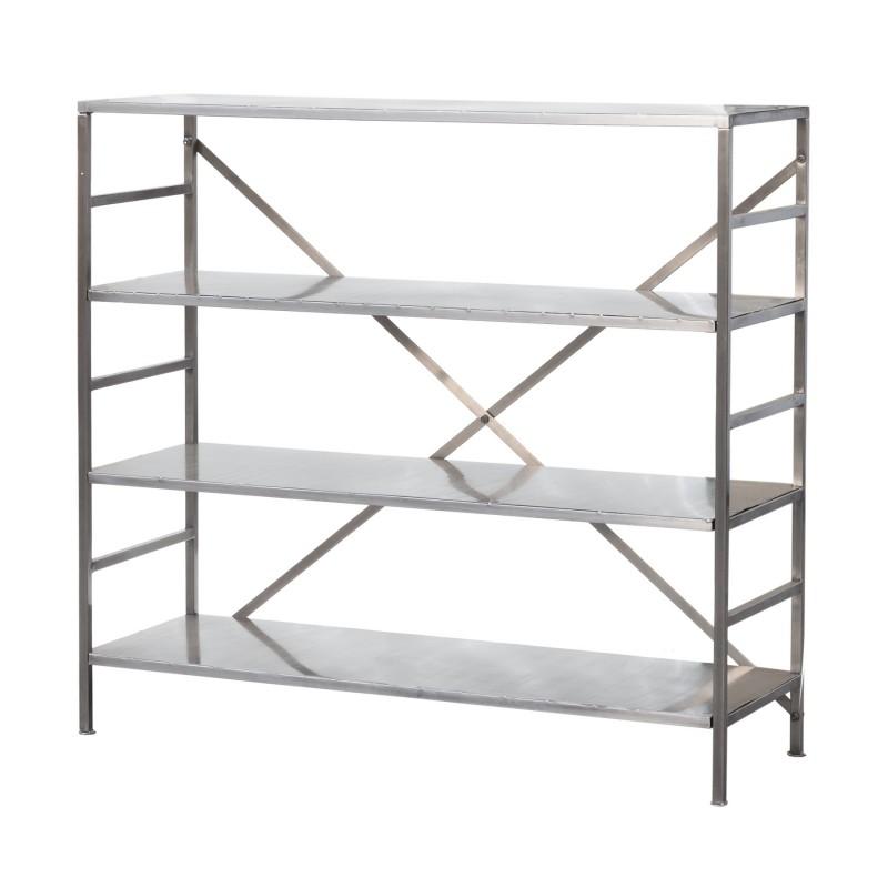 Nickel-plated iron shelves
