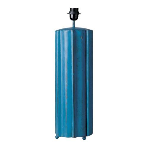 Lámpara tubo estrias azul - BECARA
