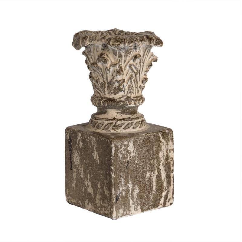 Obelisco macetero envejecido - BECARA