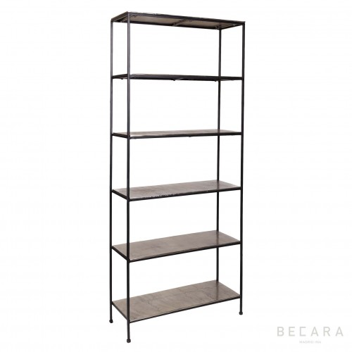 Champagne shelving with 6 shelves
