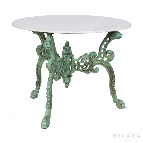 Green Leones side table