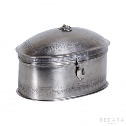 Big nickel-plated box