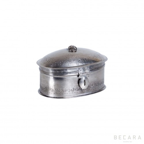 Small nickel-plated box