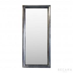 Espejo de metal acabado antique - BECARA