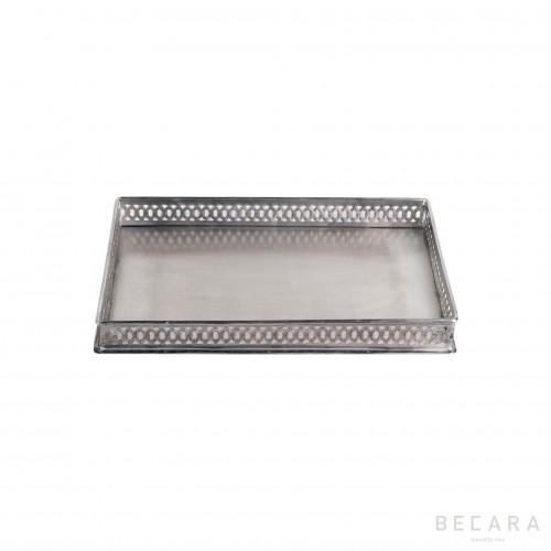 Bandeja calada rectangular pequeña - BECARA