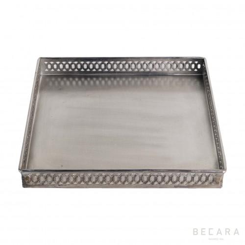Big cuadrada drilled tray
