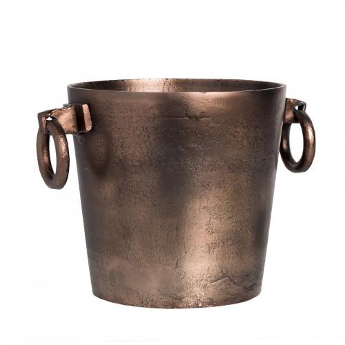 Antique copper wine cooler