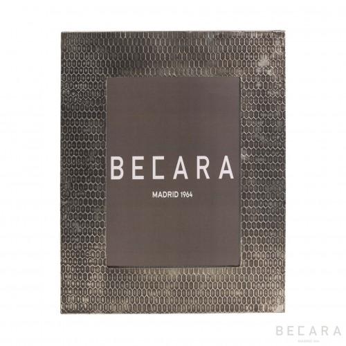 Marco de fotos con grabado - BECARA