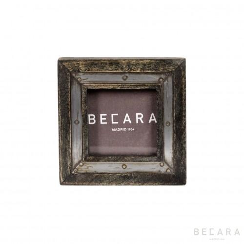 Marco cuadrado carbón - BECARA