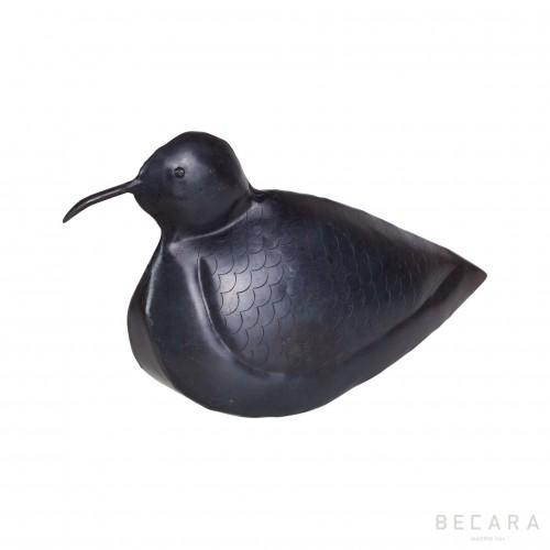 Figura pájaro negro - BECARA