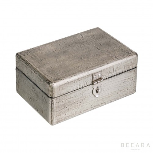 Gray rectangular box