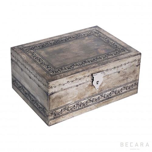 Caja grabada grande - BECARA