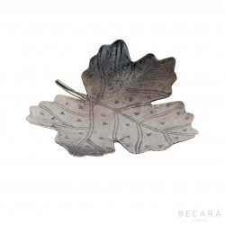 Centro de mesa hoja castaño mediano - BECARA