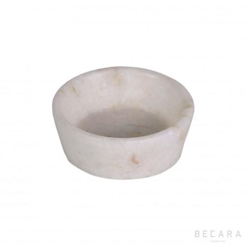 Marble salt bowl