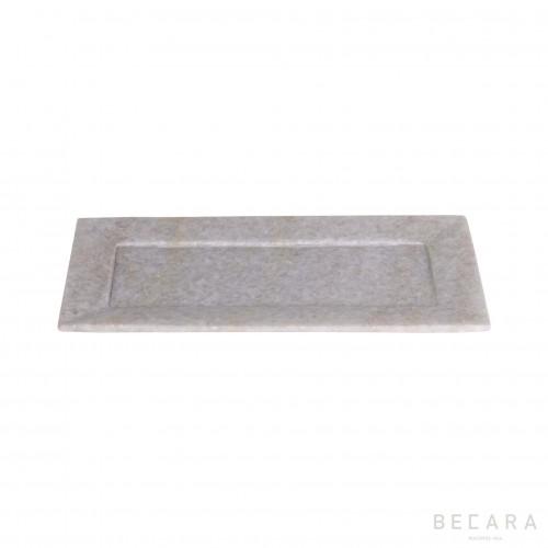 Big rectangular marble tray