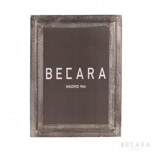 Marco de fotos de madera decapé - BECARA