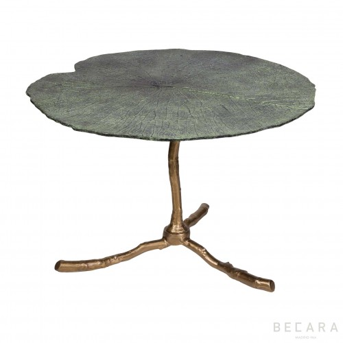 Big Lotus leaf side table