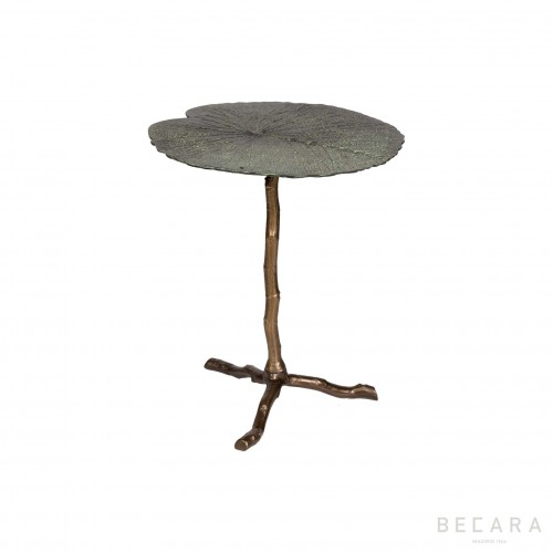 Small Lotus leaf side table