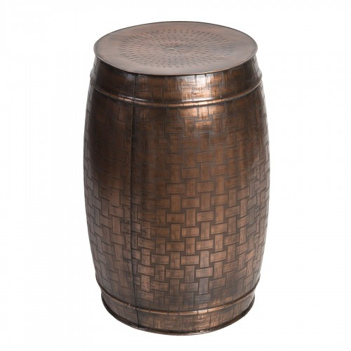 Small coppery iron stool