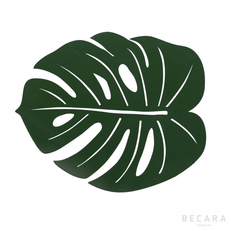 Individual hoja nenúfar verde - BECARA