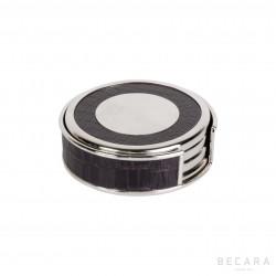 Caja de 4 posavasos de cuero - BECARA