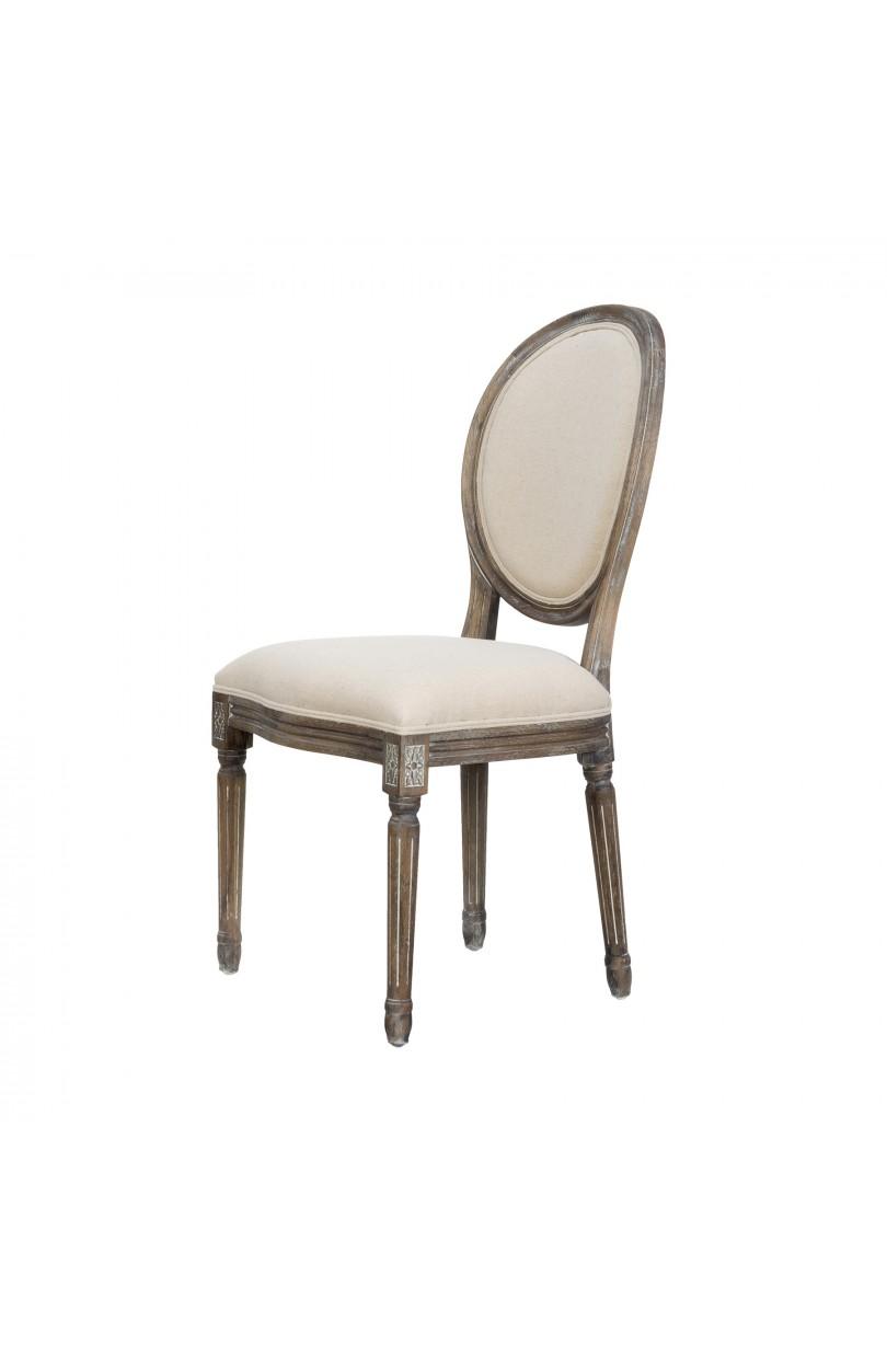 Silla luis xvi con respaldo ovalado sillas butacas - Sillas luis xvi baratas ...