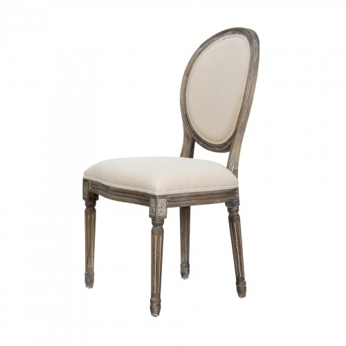 Luis XVI chair with oval back