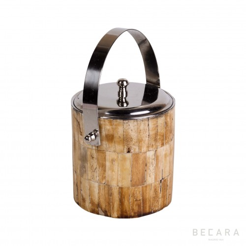 Darker bone ice bucket
