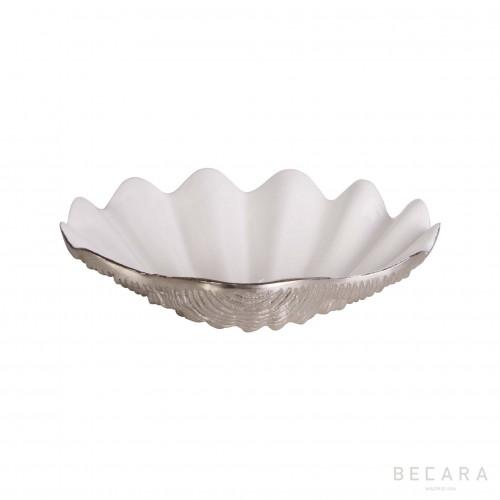 Fuente de concha plateada - BECARA