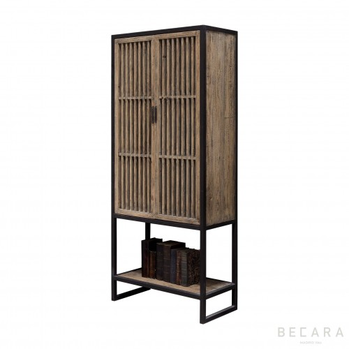 Groove cabinet