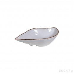 Small ceramic snail bowl