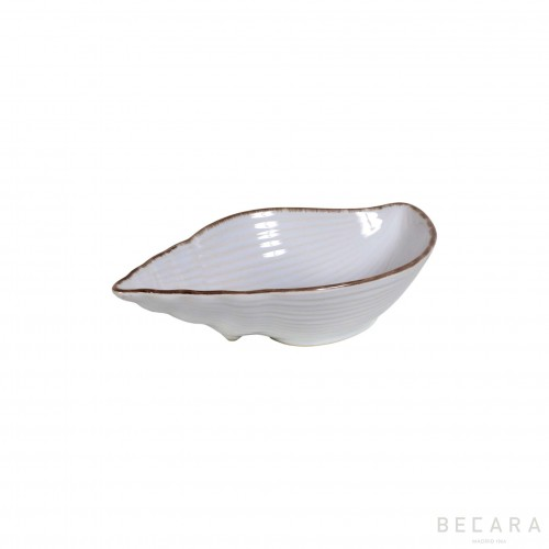 Small ceramic snail bowl