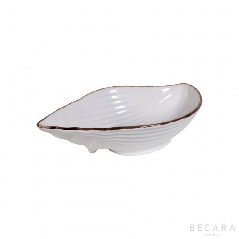 Bowl de caracol de cerámica mediano - BECARA