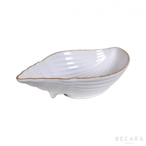 Big ceramic snail bowl