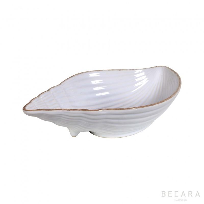 Big ceramic snail bowl