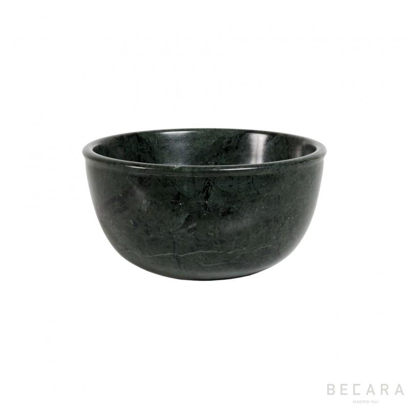 Bowl pequeño mármol verde - BECARA