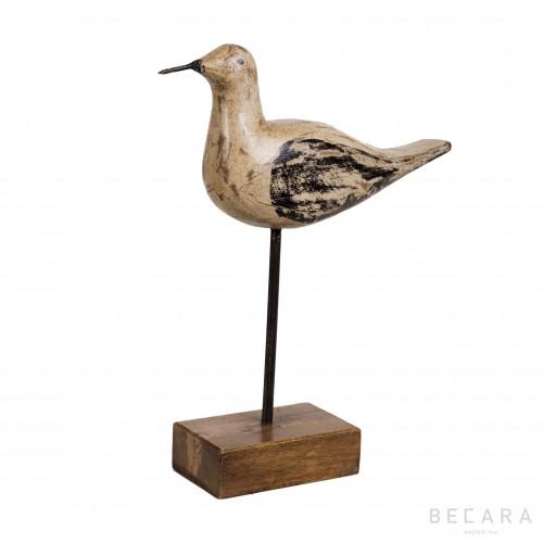 Pájaro en peana - BECARA
