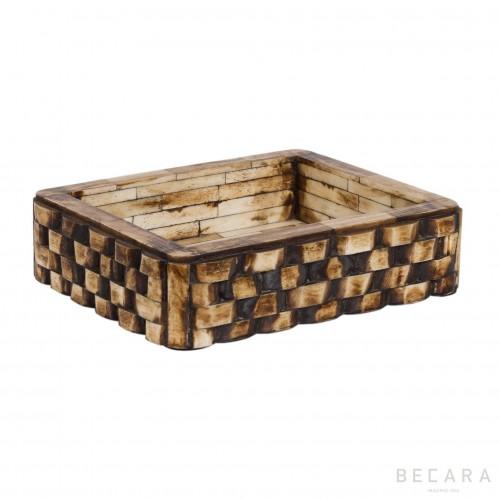 Bandeja de hueso tostado - BECARA